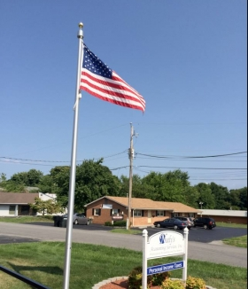 20' Cam-Cleat Flagpole Roanoke Virginia
