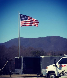 35' ESR Flagpole Boones Mill Virginia