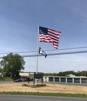 40' ESR Flagpole Martinsburg West Virginia