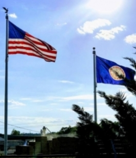 30'and 25' Flagpoles, Rocky Mount Virginia